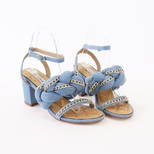 b026e010d55 ... suede ankle boots booties carrie-23 denim ankle strap sandal ...
